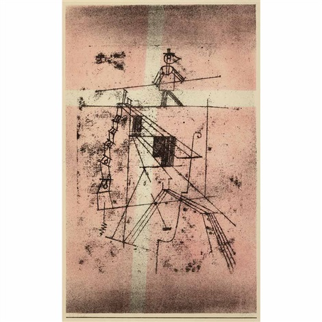 der seiltanzer by paul klee