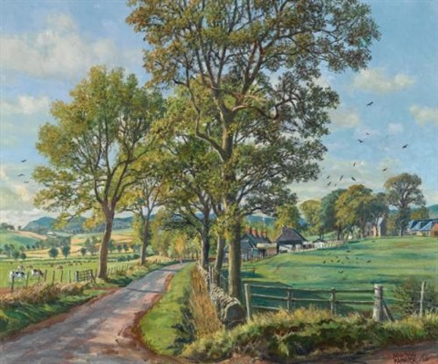 pitermo farm near lundie angus by james mcintosh patrick