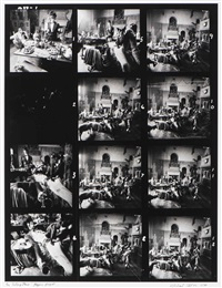 the rolling stones - beggars banquet: contact sheet by michael joseph