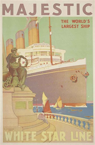 majestic white star line by william james aylward
