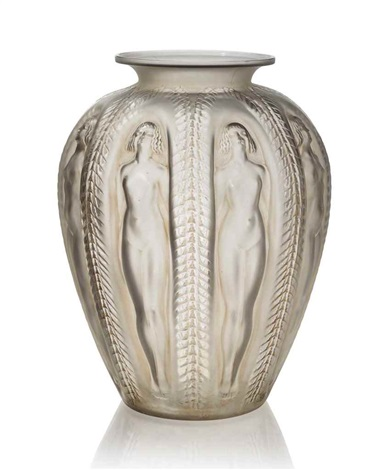 A Rare Luxembourg Vase No 1018 By Ren Lalique On Artnet