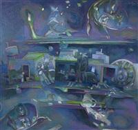 violáceos con fragancia by jorge ponce