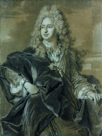portrait du marquis néri maria corsini by hyacinthe rigaud