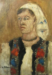 bucovinian woman by calin alupi