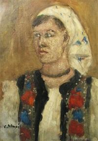bucovinian woman by calin alupi
