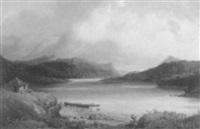 lac katrine by jean baptiste georges gassies