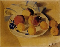 plums and peaches by jane simone bussy