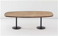 table (from the institute of indology, ahmedabad, india) by b. doshi and le corbusier