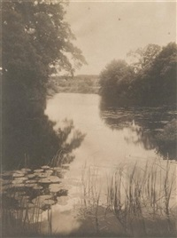 broughtons pond by frances & mary allen