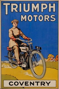 triumph motors by posters: motorcycles