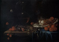 nature morte aux fruits by georg hainz