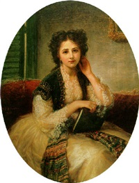 mademoiselle hélène cassavetti by bernardo amiconi