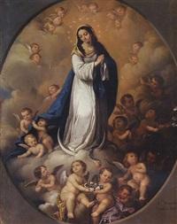 virgen de la inmaculada concepción by francisco morales van den eynden