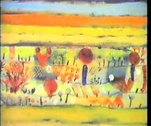 Garten In Der Ebene I By Paul Klee On Artnet