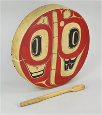 northwest coast drum by robert davidson