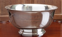 a revere presentation bowl by towle silver