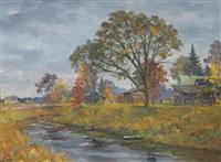 suida river by alexander alexandrovsky