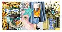 to be titled #1 (triptych) by david salle