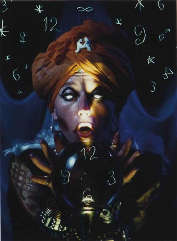 untitled fortune teller by cindy sherman