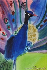 peacock by jane evans
