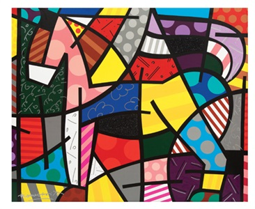 artwork by romero britto
