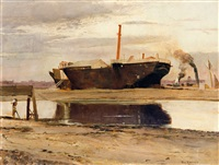 the old sacramento by tom roberts