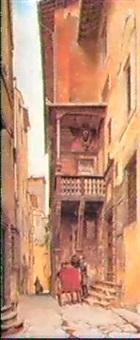 loggia del vasari by ernesto bensa