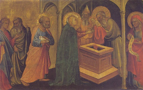 the presentation of christ in the temple by gherardo die jacopo starnina