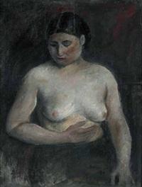 modella (figura col seno scoperto) by cristoforo de amicis