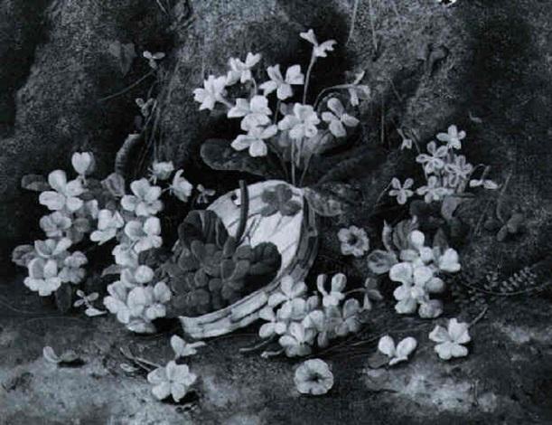 stilleben mit frühlingsblumen by henry j livens