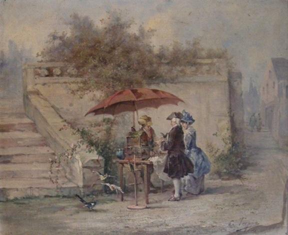 le marchand doiseau by eugène appert