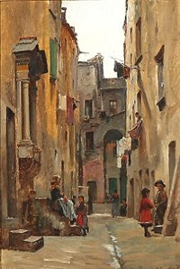 street view from rome by august fischer