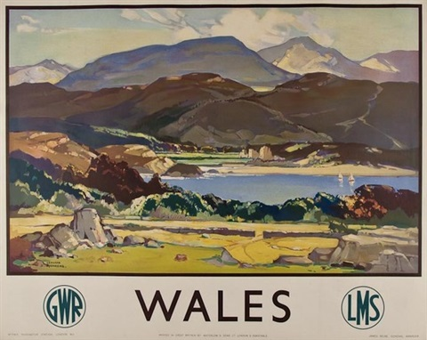 wales, gwr, lms by leonard richmond
