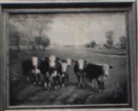 cows by john herbert alger
