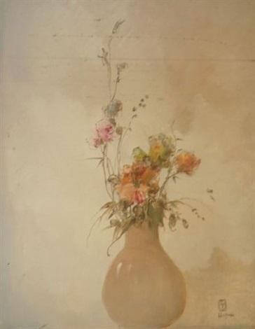 arrangement en rose by leon dabo