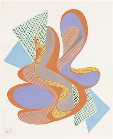 geometric composition by carl robert holty