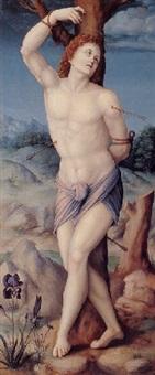 saint sebastian by bacchiacca