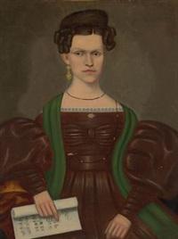 portrait of mrs. paul smith palmer by erastus salisbury field