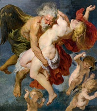 boreas entführt oreithya (after peter paul rubens) by josef jungwirth