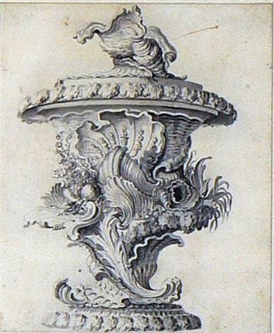 projet de vase composé de coquillages by js hildt