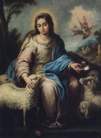la divina pastora by miguel alonso de tovar