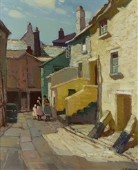 pudding bag lane, st. ives by leonard richmond