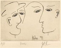 faces by john kahn