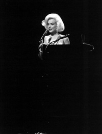 marilyn monroe, madison square garden by henry grossman