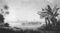 in der bay von rio de janeiro, braselien by f. (dr.) hofmeister