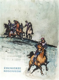 żołnierze kościuszki (design for book cover) by ludwig maciag