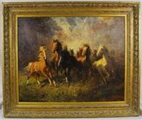wild horses by zoltan benyey