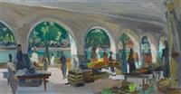 luzern - sommerlicher markttag unter der egg by werner hartmann