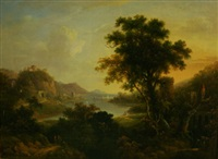 italianate landscape by alexander nasmyth