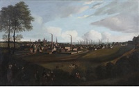 a panoramic view of arbroath by scottish school (19)